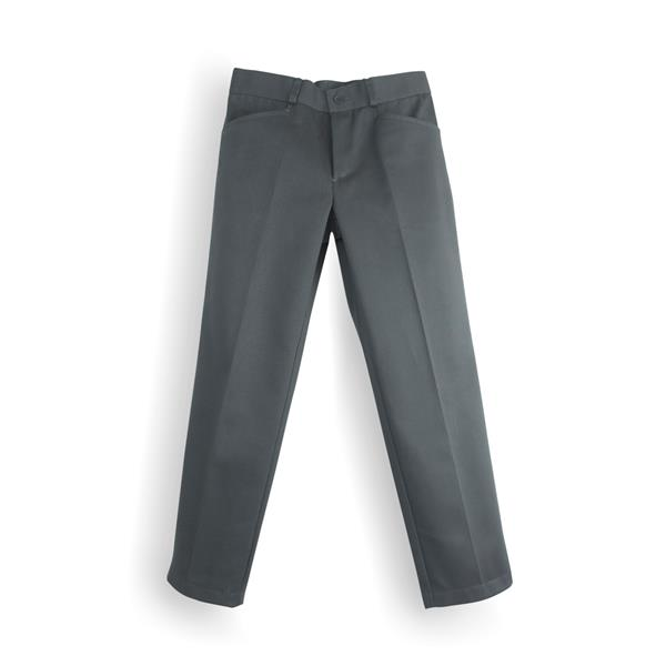 PANTALON LARGO GRIS MEDIO